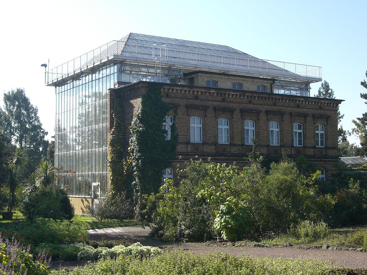Bild Botanischer Garten Halle