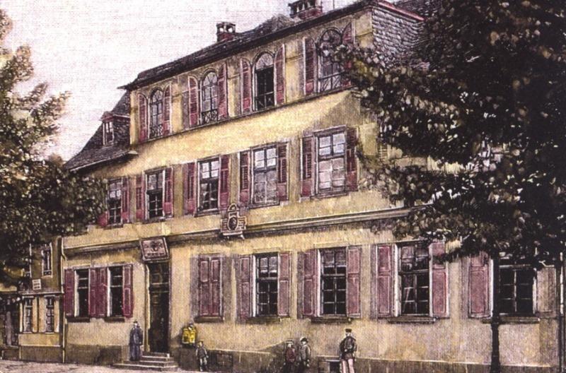 Bild Grimm Wohnhaus Hanau