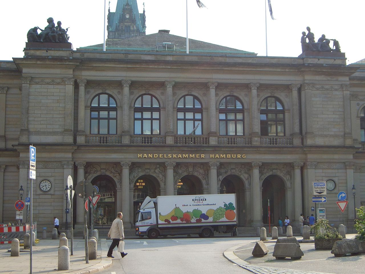 Bild Commerzbibliothek Hamburg