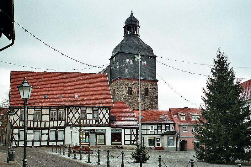 Bild St. Marienkirche Harzgerode