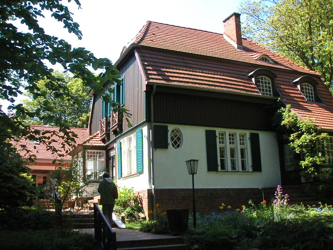 Bild Gerhart Hauptmann Haus Hiddensee