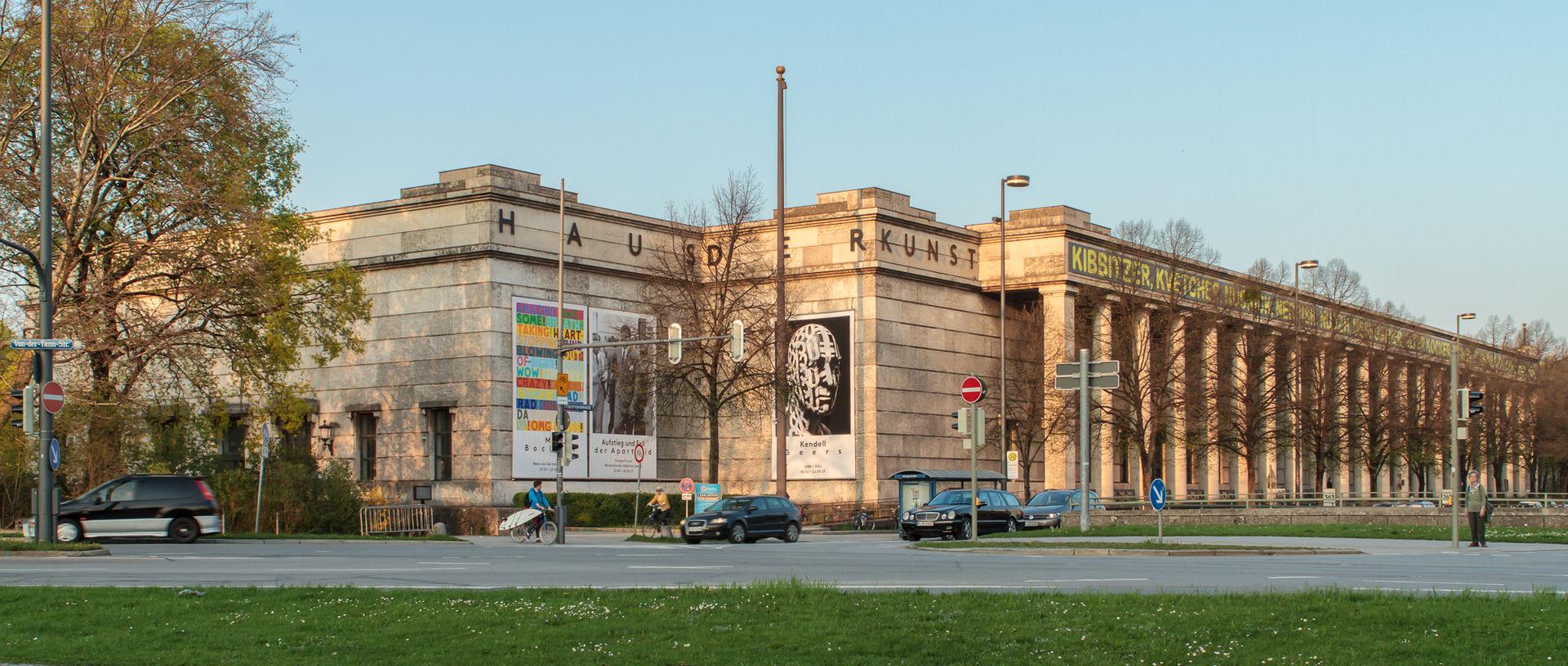 Bild Haus der Kunst am Englischen Garten München