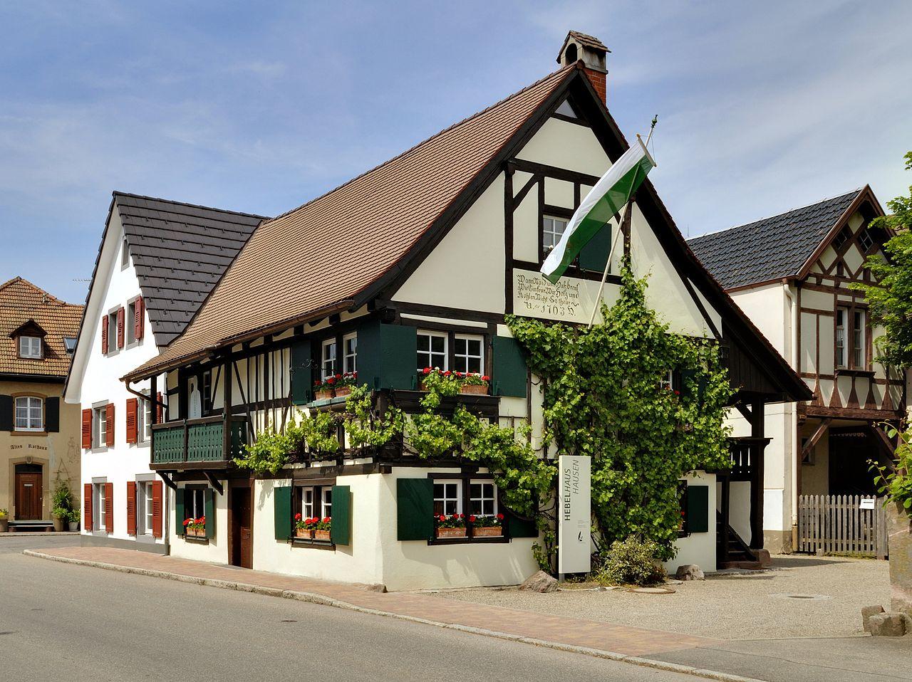 Bild Literaturmuseum Hebelhaus Hausen im Wiesental