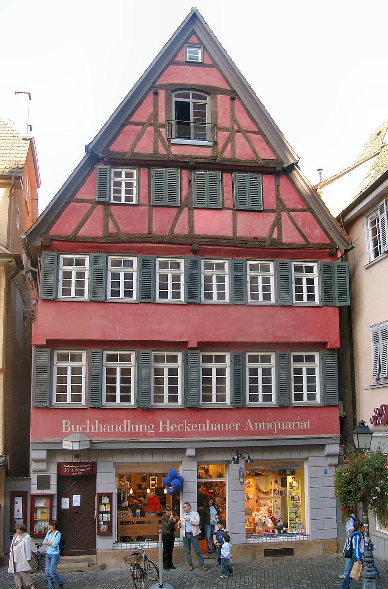 Bild Buchhandlung Heckenhauer Tübingen