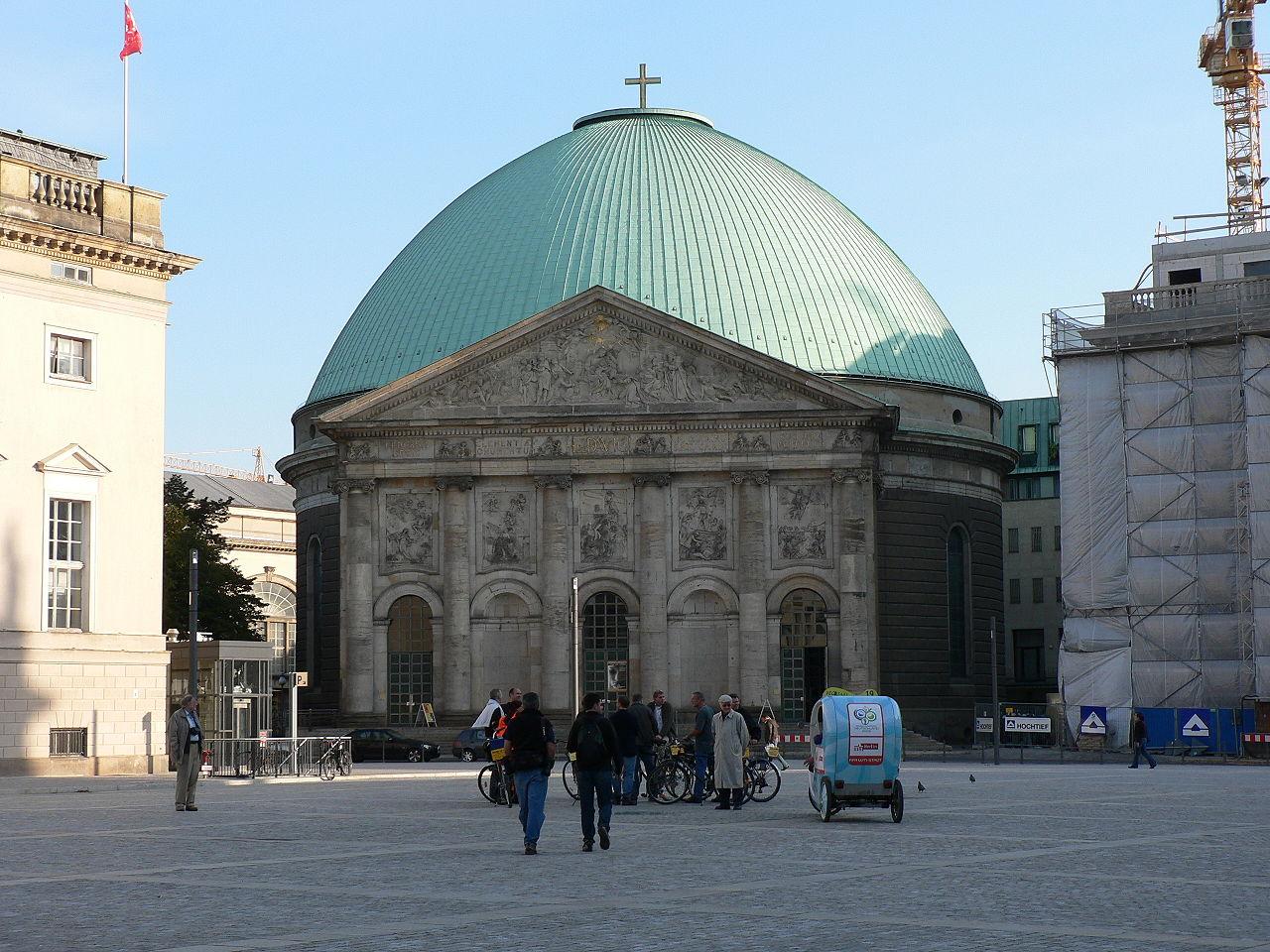 Bild Sankt Hedwigs Kathedrale Berlin