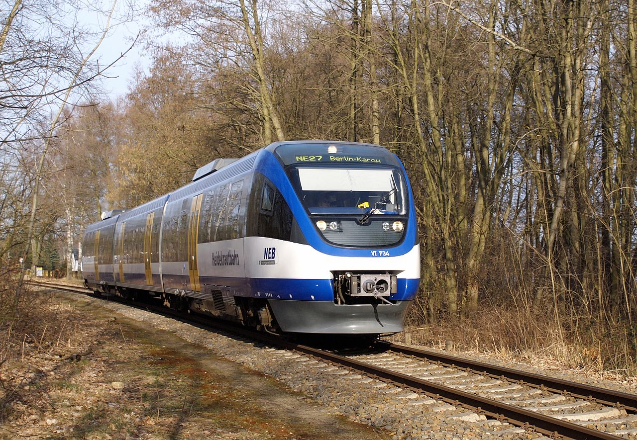 Bild Heidekrautbahn Basdorf