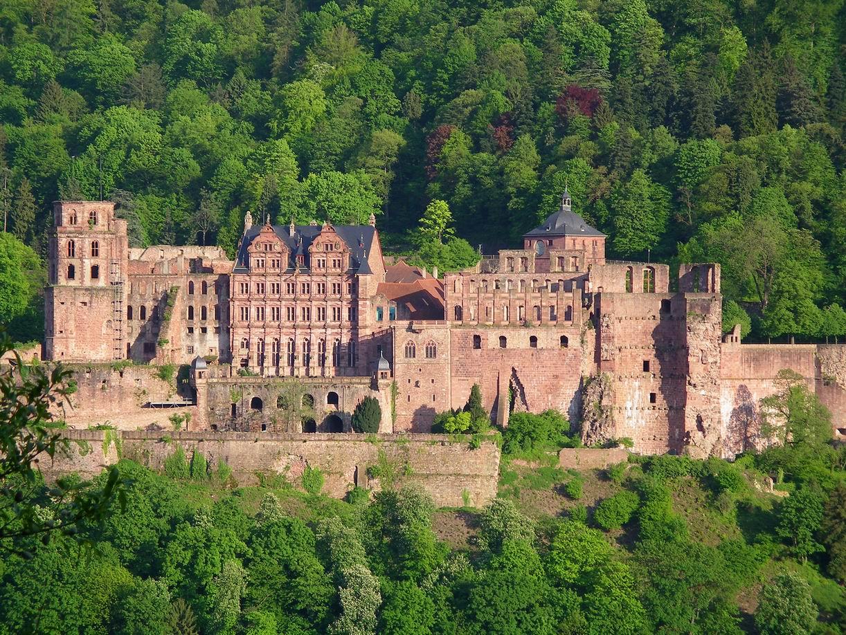 Bild Heidelberger Schloss