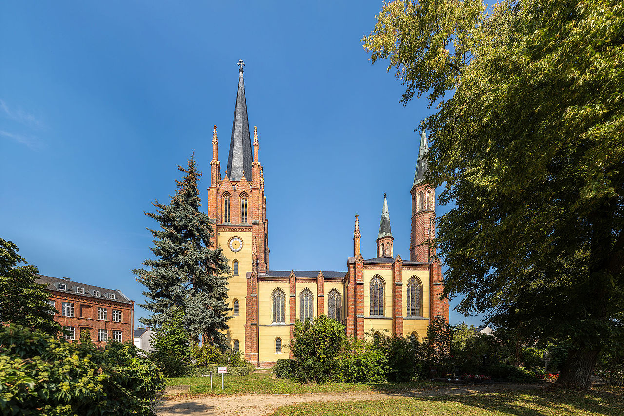 Bild Heilig Geist Kirche Werder an der Havel