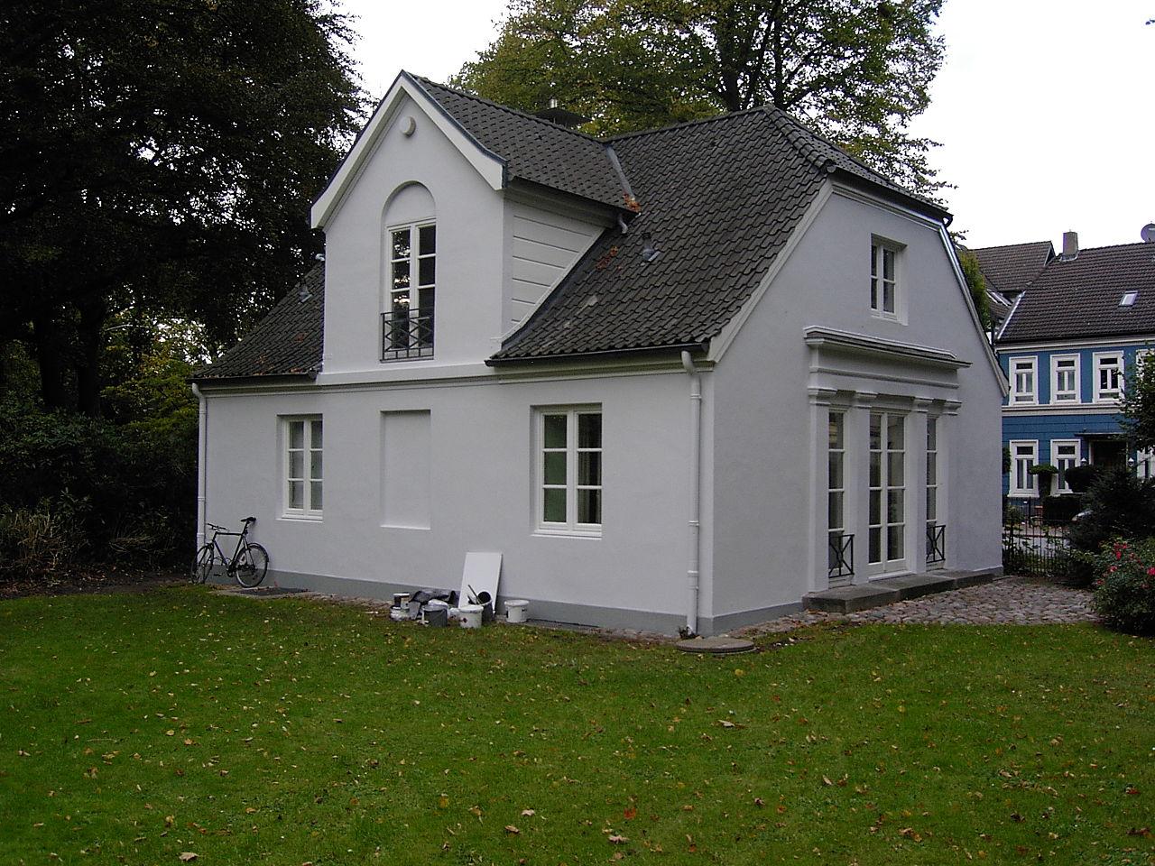 Bild Heine Haus im Heine Park Hamburg