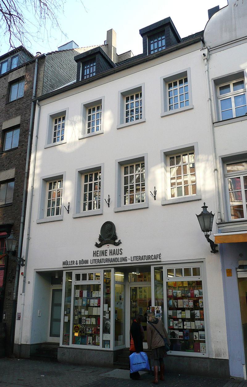 Bild Heine Haus Düsseldorf