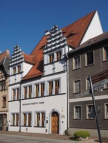 Bild Heinrich Schütz Haus Weißenfels