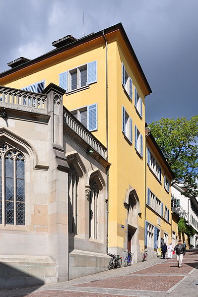 Bild Kulturhaus Helferei Zürich