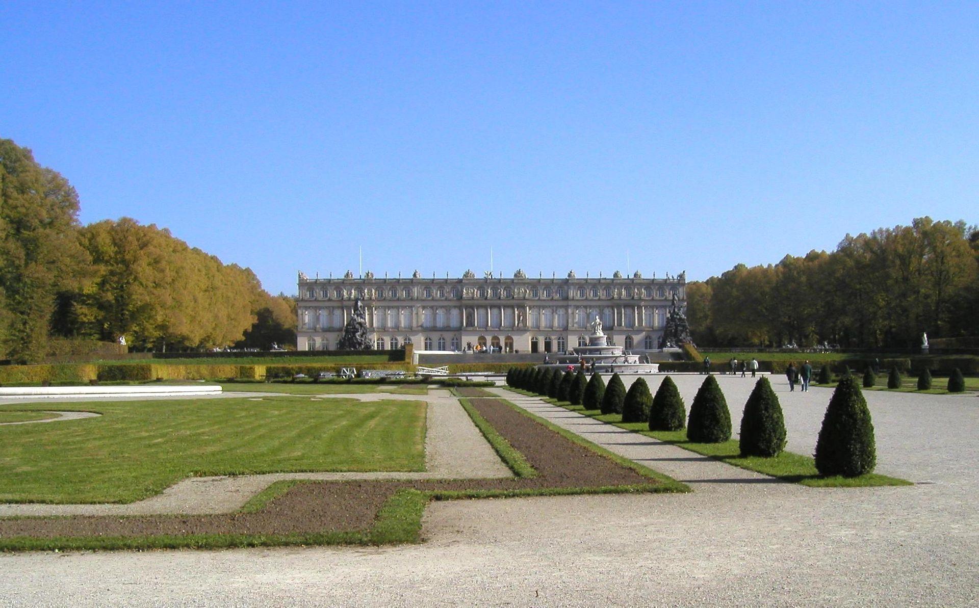 Bild Schloss Herrenchiemsee
