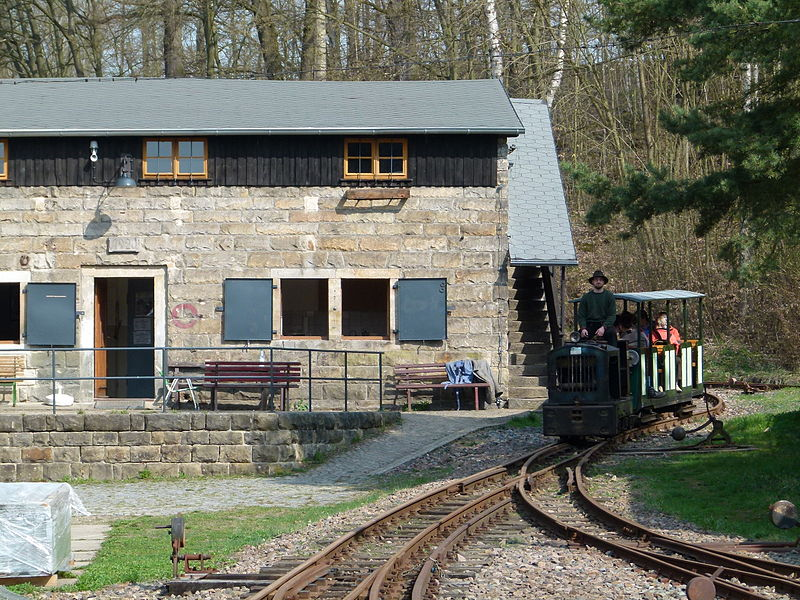 Bild Feldbahnmuseum Herrenleite Lohmen