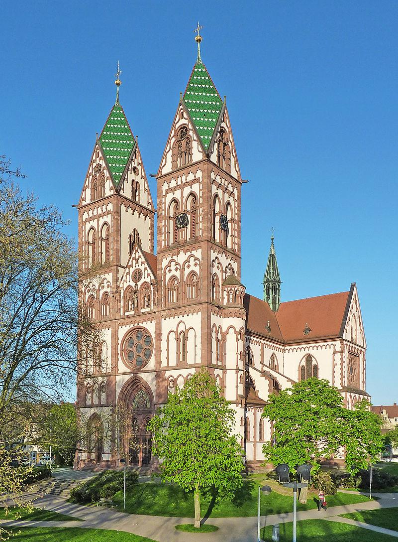 Bild Herz Jesu Kirche Freiburg
