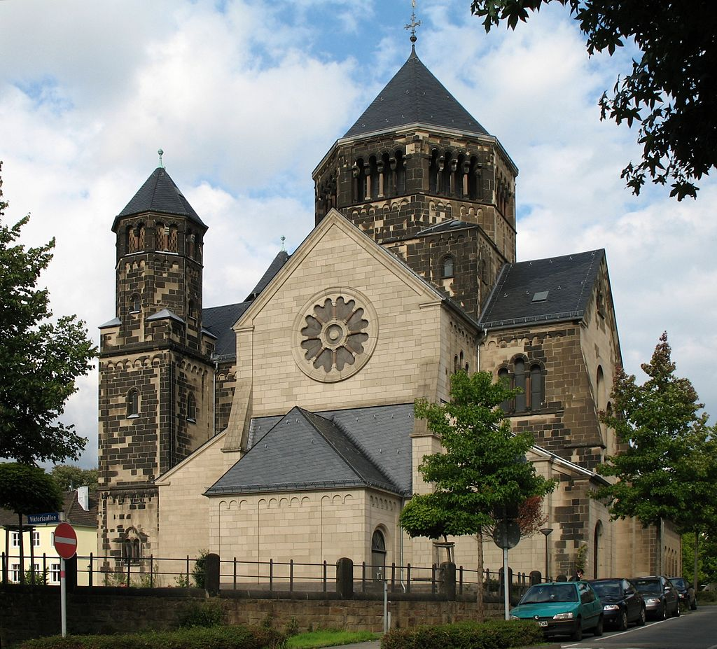 Bild Herz Jesu Kirche Aachen
