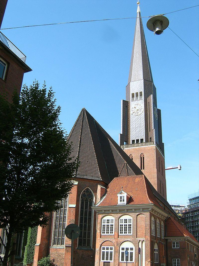 Bild St. Jacobi Kirche Hamburg