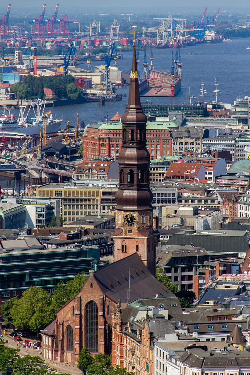 Bild St. Katharinen Kirche Hamburg