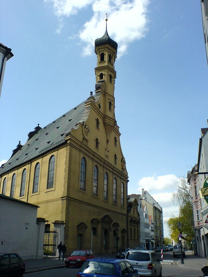 Bild Heilig Kreuz Kirche Augsburg