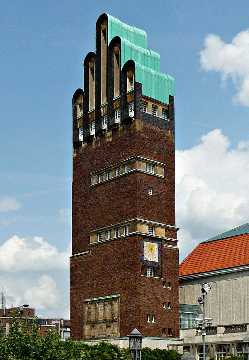 Bild Hochzeitsturm Darmstadt