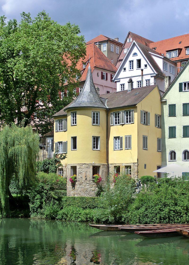 Bild Hölderlin Turm Tübingen