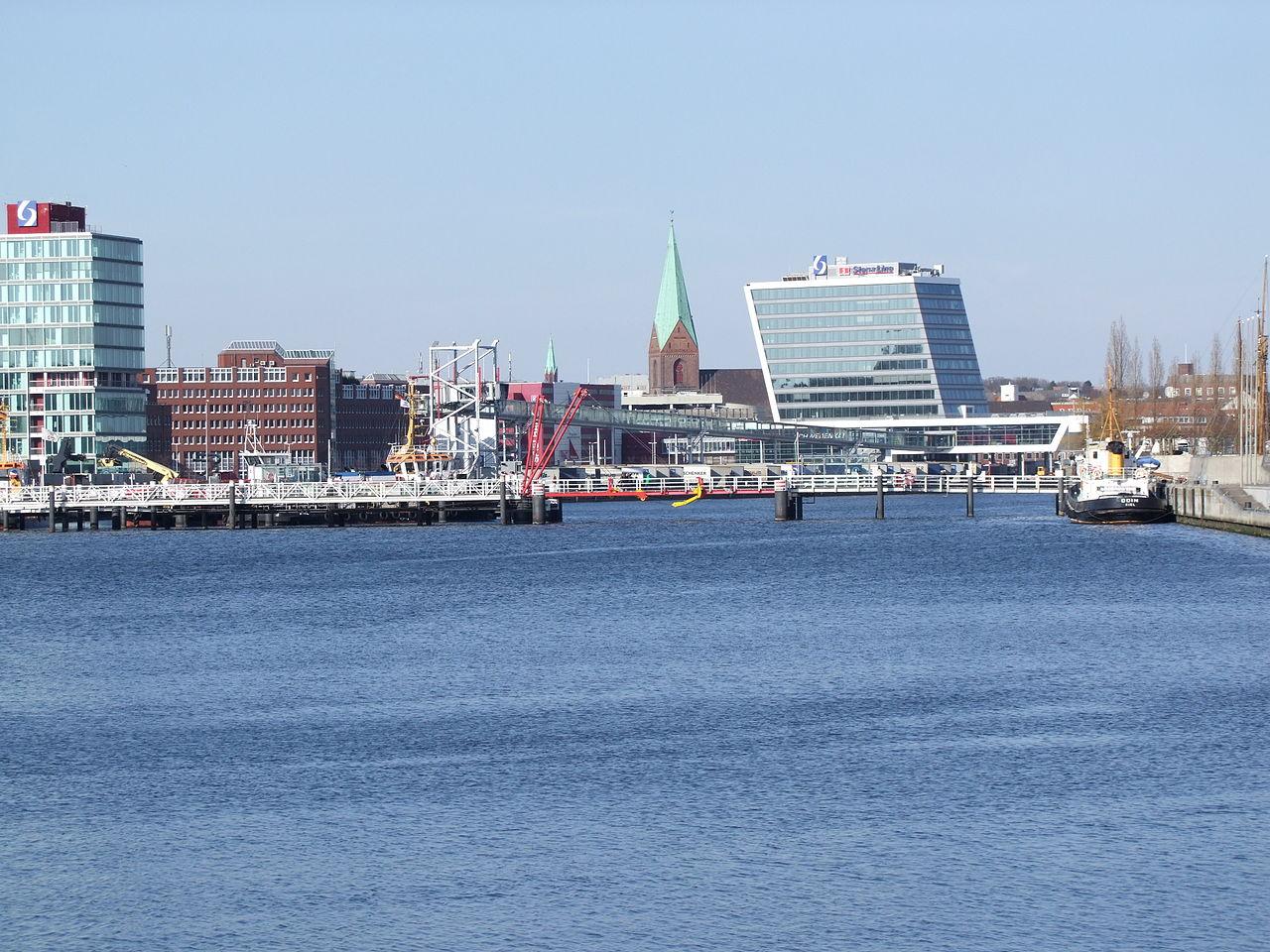 Bild Schwedenkai Kiel
