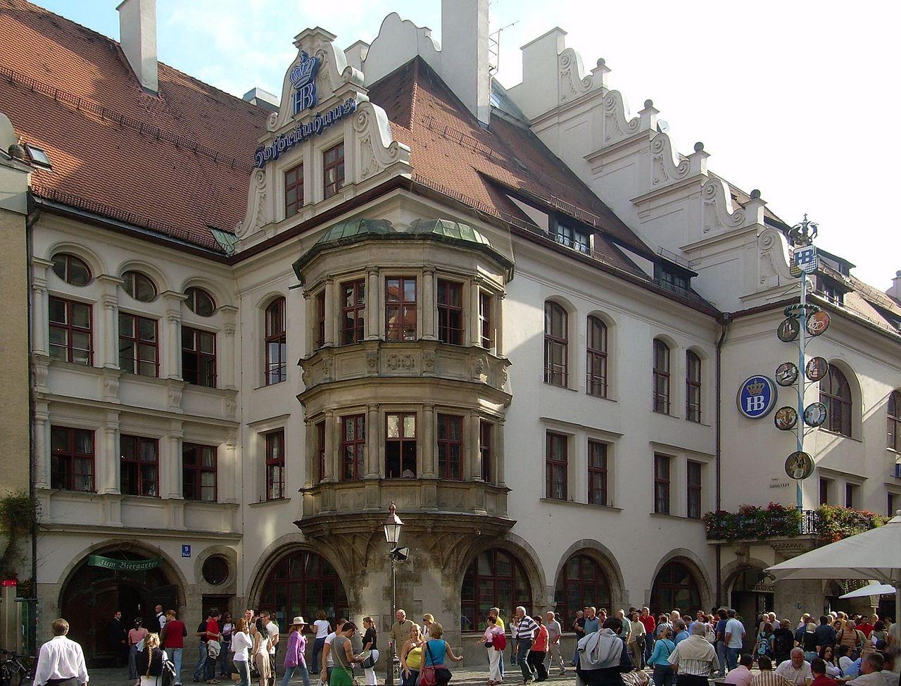 Bild Münchner Hofbräuhaus