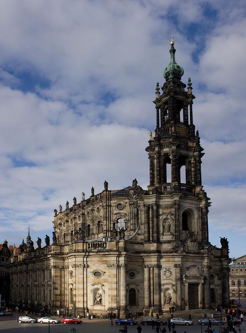 Bild Katholische Hofkirche Dresden