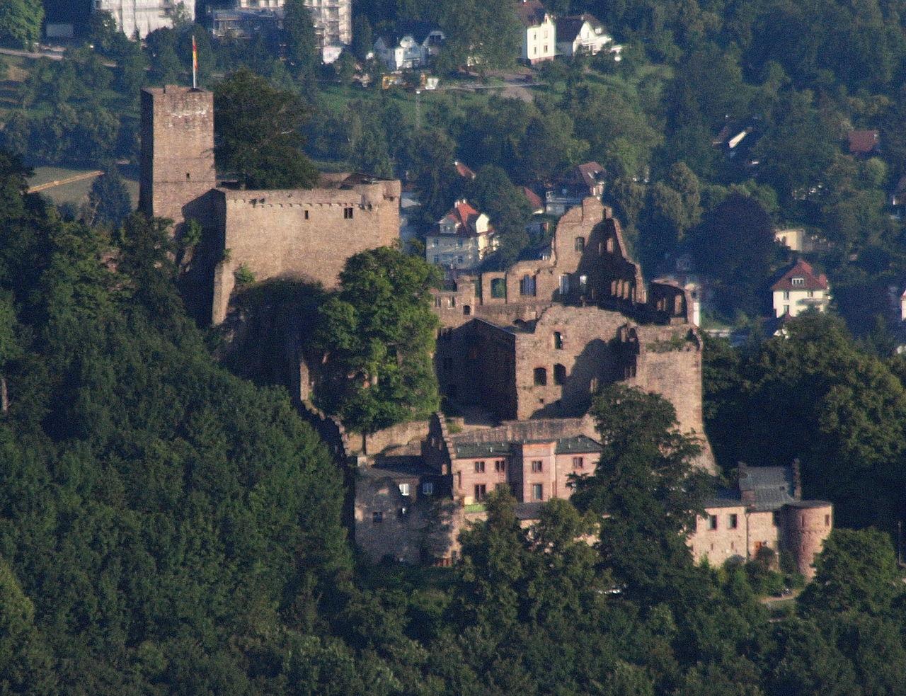 Bild Schloss Hohenbaden Baden Baden