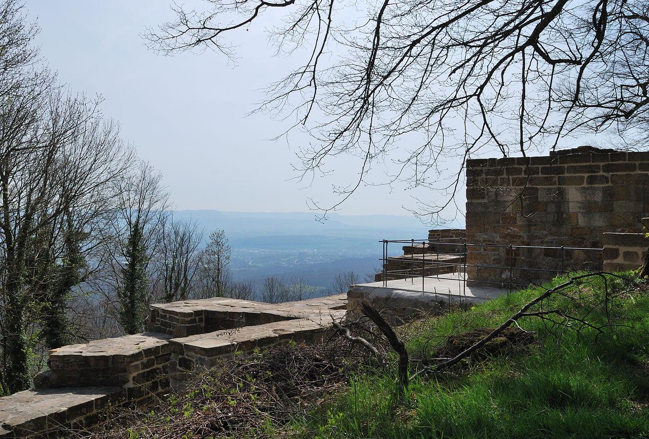 Bild Burgruine Hohenstaufen Göppingen