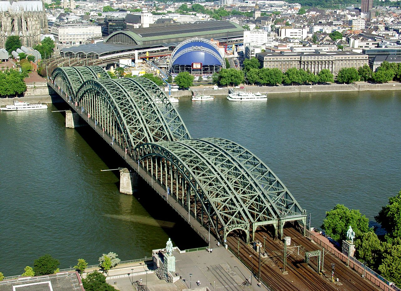 Bild Hohenzollernbrücke Köln