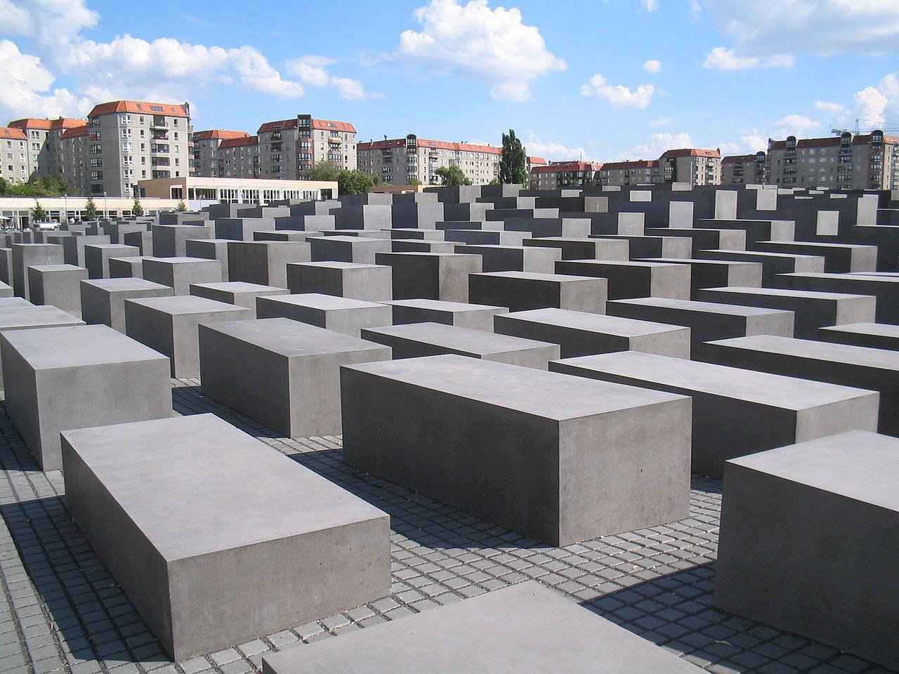 Bild Denkmal für die ermordeten Juden Europas in Berlin