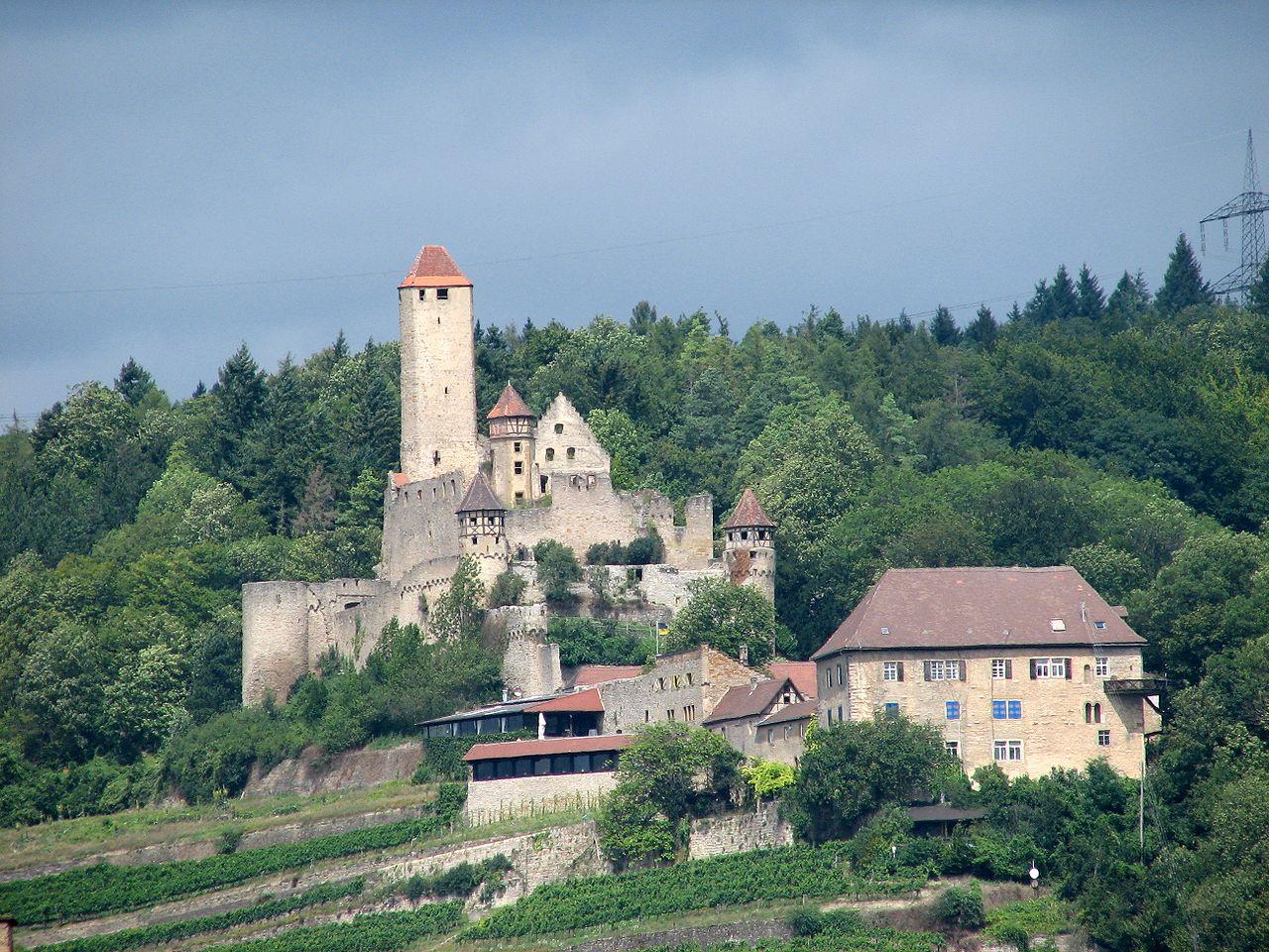 Bild Burg Hornberg Neckarzimmern