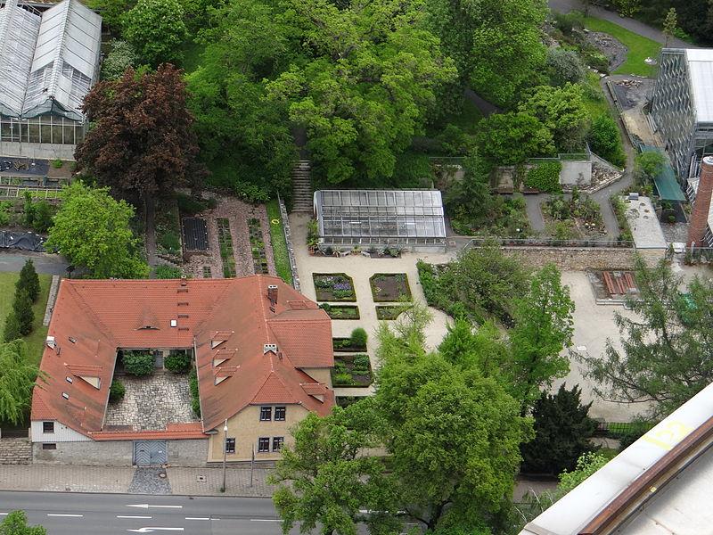 Bild Goethe Gedenkstätte im Botanischen Garten Jena