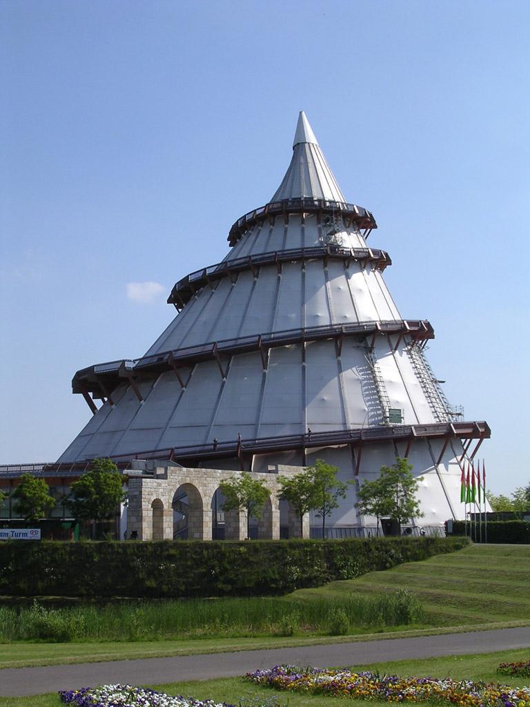Bild Jahrtausendturm Magdeburg