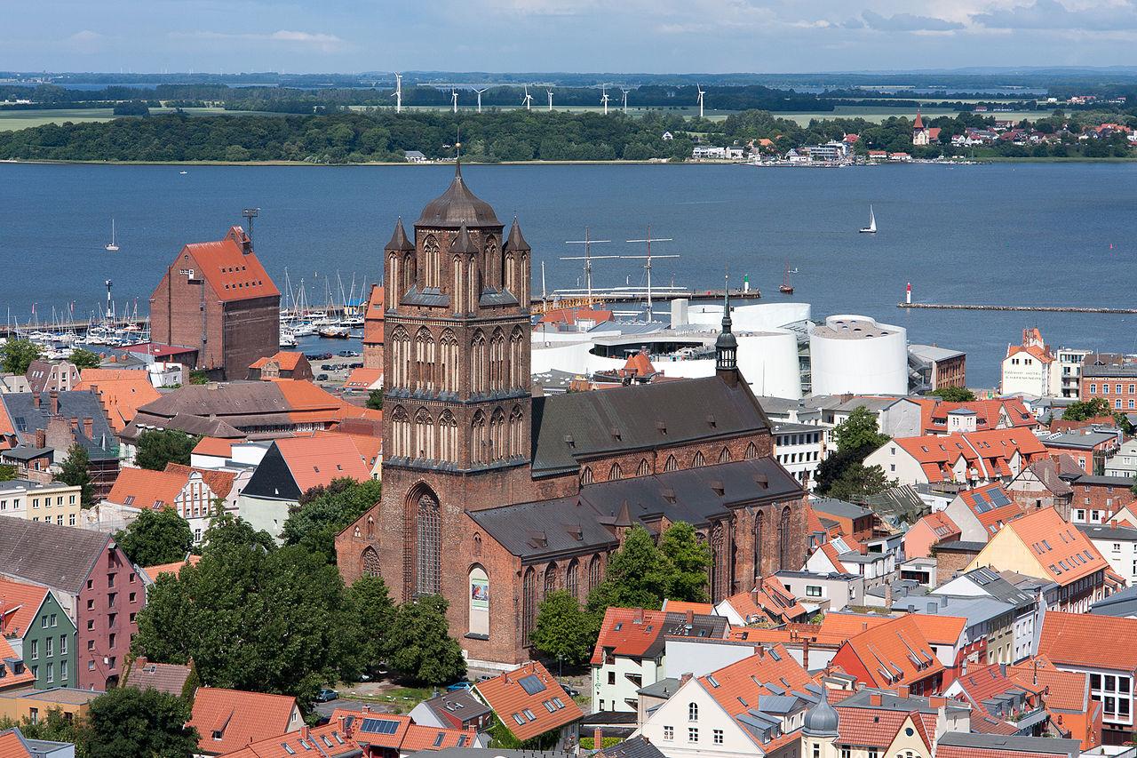 Bild Jakobikirche Stralsund
