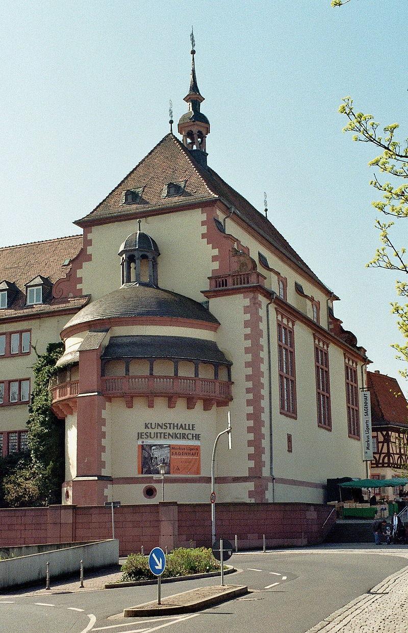Bild Kunsthalle Jesuitenkirche Aschaffenburg