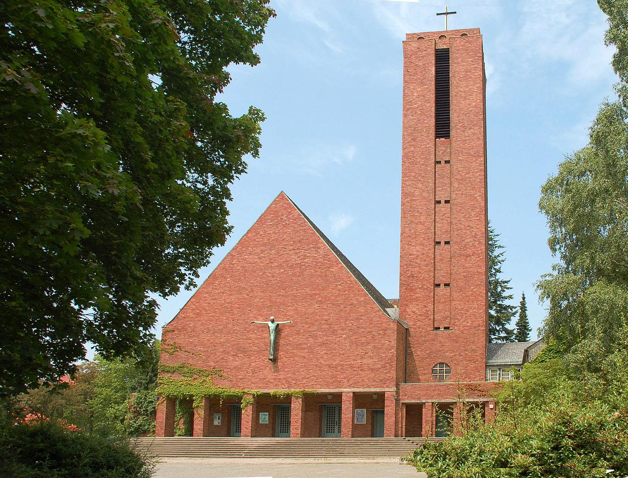 Bild Jesus Christus Kirche Berlin Dahlem