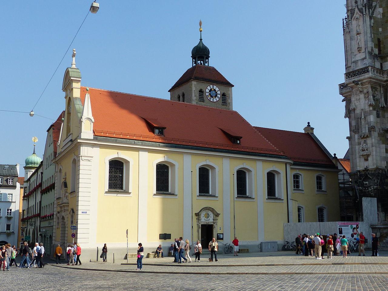 Bild Stiftskirche St. Johann Regensburg