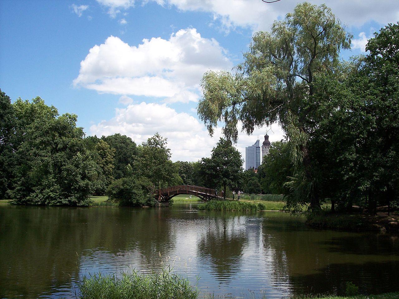 Bild Johannapark Leipzig