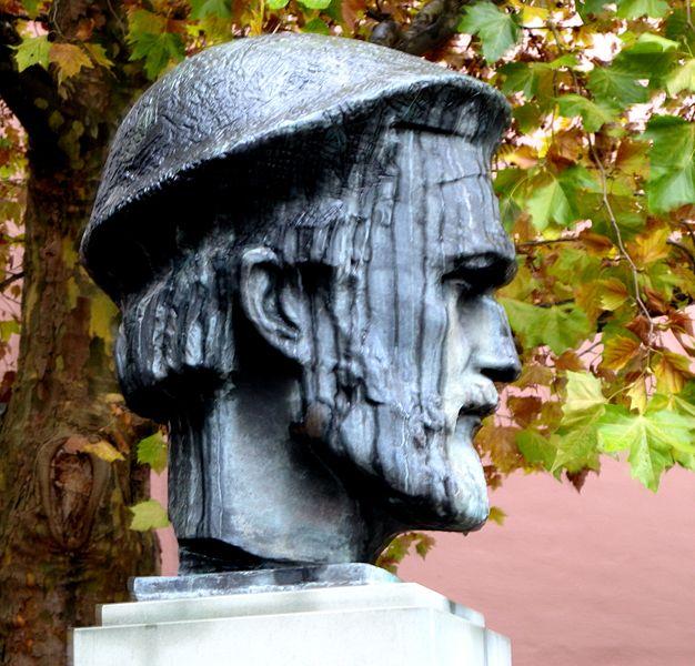 Bild Aaltonen Bronzebüste Mainz