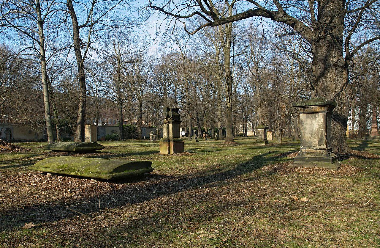 Bild Alter Johannisfriedhof Leipzig