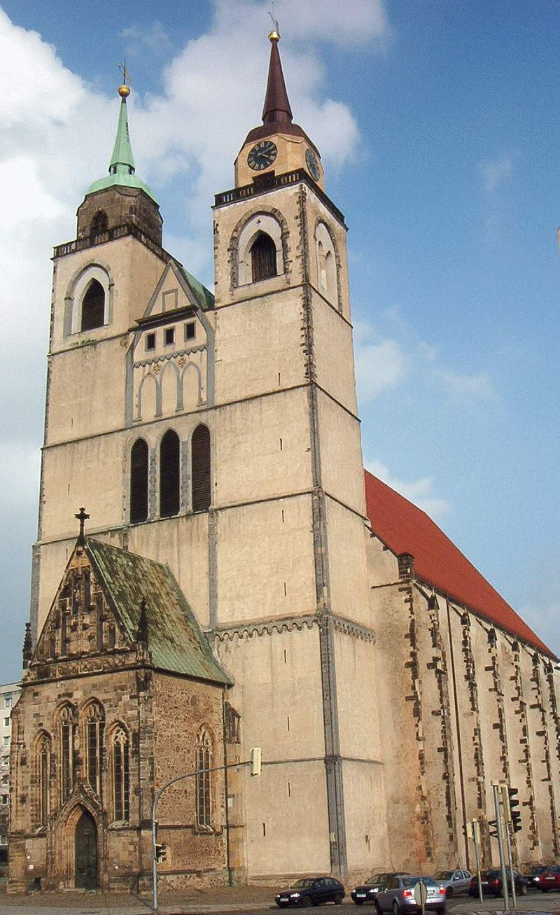 Bild Kirche St. Johannis Magdeburg