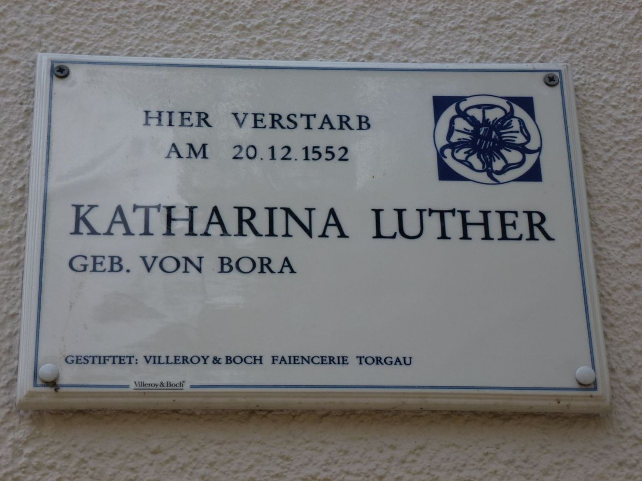 Bild Katharina Luther Stube Torgau