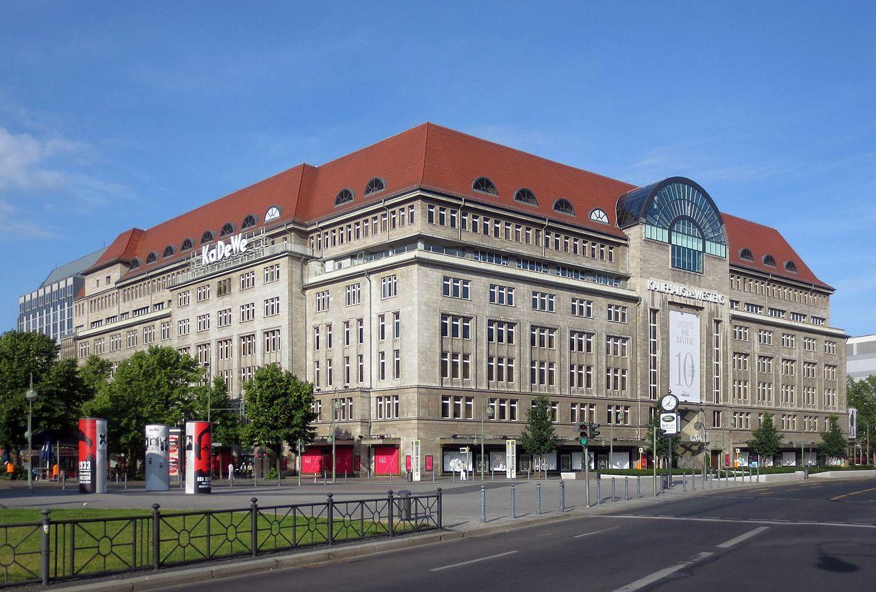 Bild Kaufhaus des Westens KaDeWe Berlin