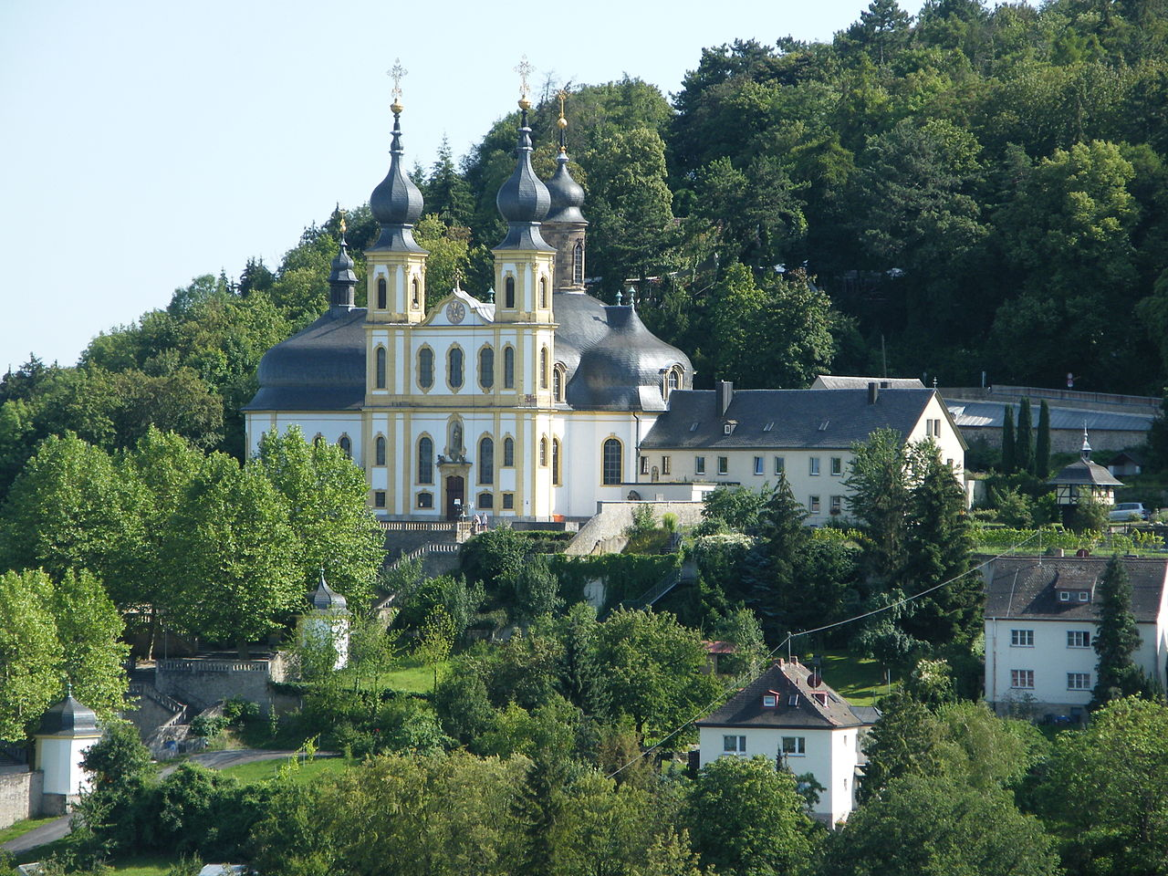 Bild Kapuzinerkloster Käppele Würzburg