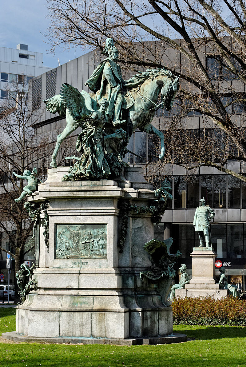 Bild Kaiser Wilhelm Denkmal Düsseldorf