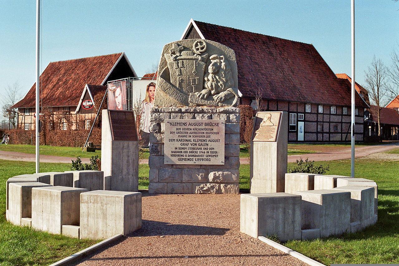 Bild Galen Denkmal Lippborg