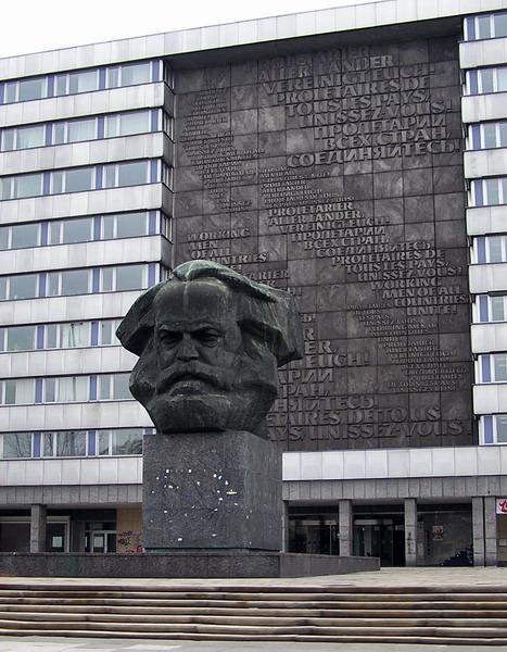 Bild Karl Marx Monument Chemnitz