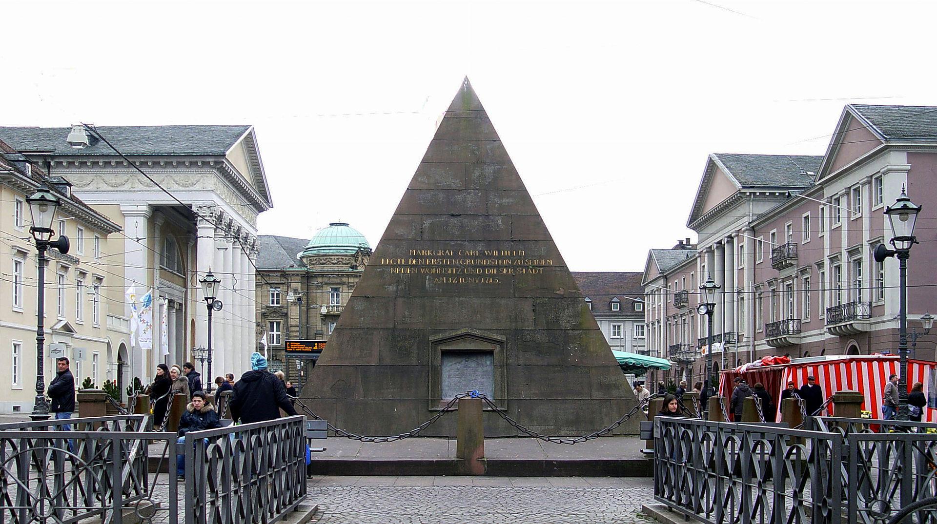 Bild Karlsruher Pyramide